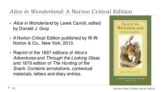 An Analysis of Alice's Adventures in Wonderland