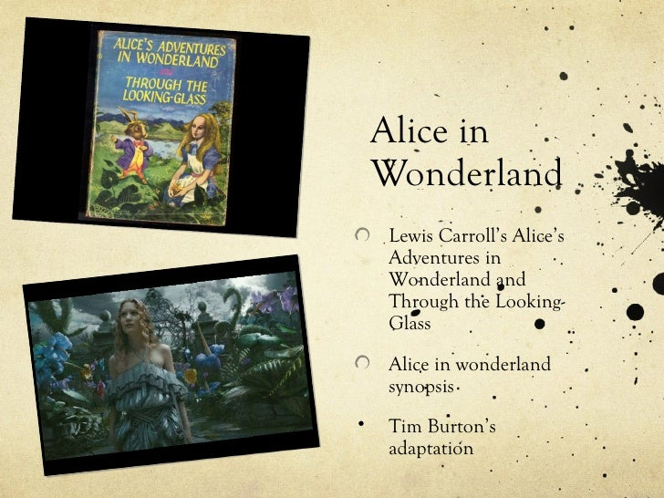 "an analysis of tragedy in alice in wonderland The intertextuality involved in the subsection entitled ""alice in wonderland  this careful analysis at  can i say that a common genre between them is tragedy."
