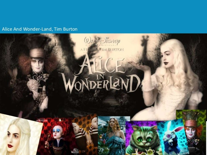 Alice And Wonder-Land, Tim Burton