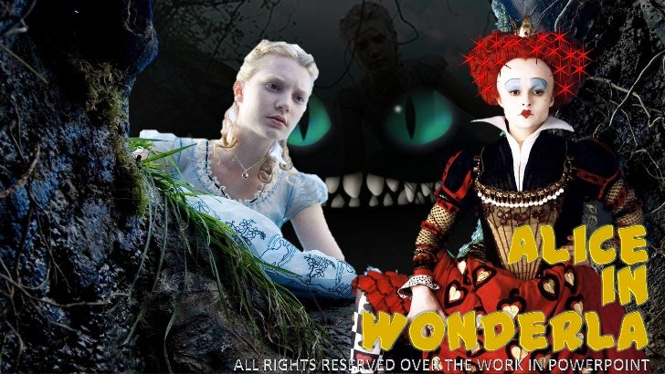 Alice<br />in<br />Wonderland<br />www.slideshare.net/doinapp<br />October, 2011<br />ALL RIGHTS RESERVED OVER THE WORK IN...