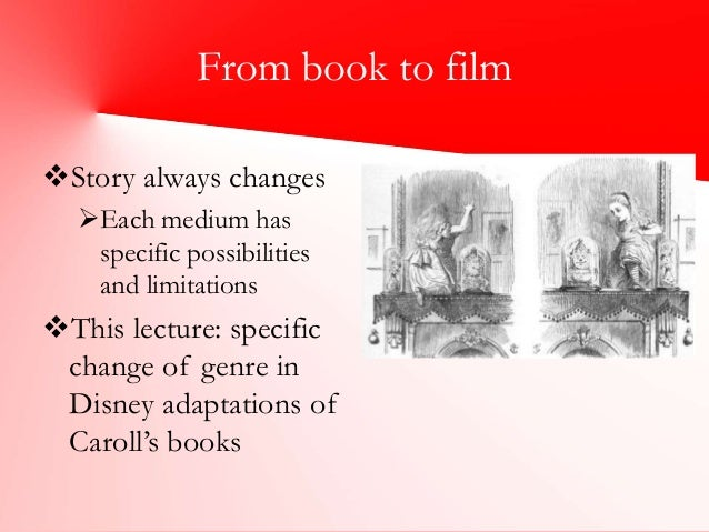 alice in wonderland comparing book and movie Alice in wonderland can refer to one of the following: see also alice (disambiguation)  disney wiki is a fandom movies community view mobile site.