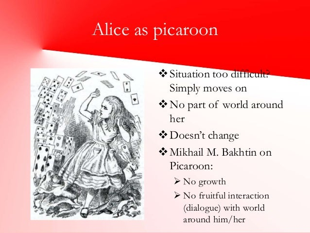 comparing alice and wonderland and through The adventures of alice in wonderland happen, as is explained at the end of the   throughout the whole story alice is involved in everyday activities, familiar to.