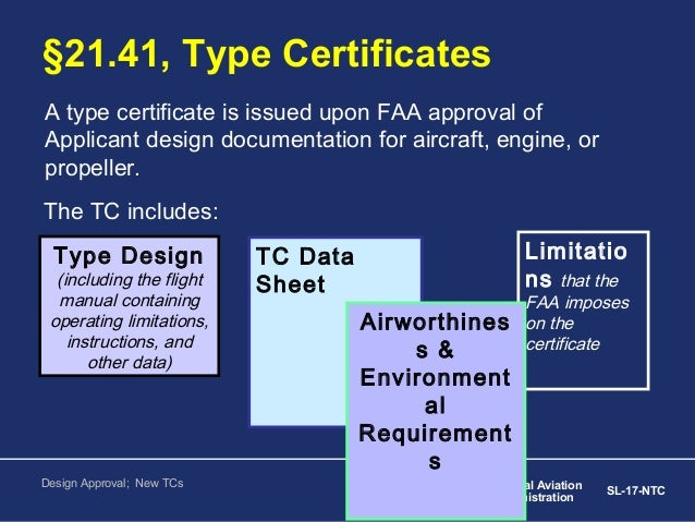 Aircraft Certification and Type of Certificates 3-9-13 - photo#30