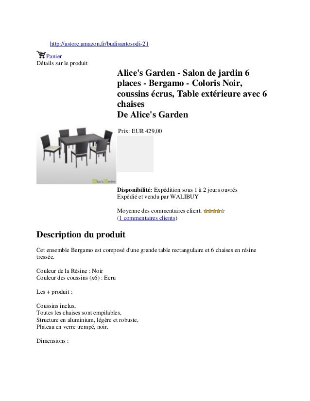 http://astore.amazon.fr/budisantosodi-21PanierDétails sur le produitAlices Garden - Salon de jardin 6places - Bergamo - Co...