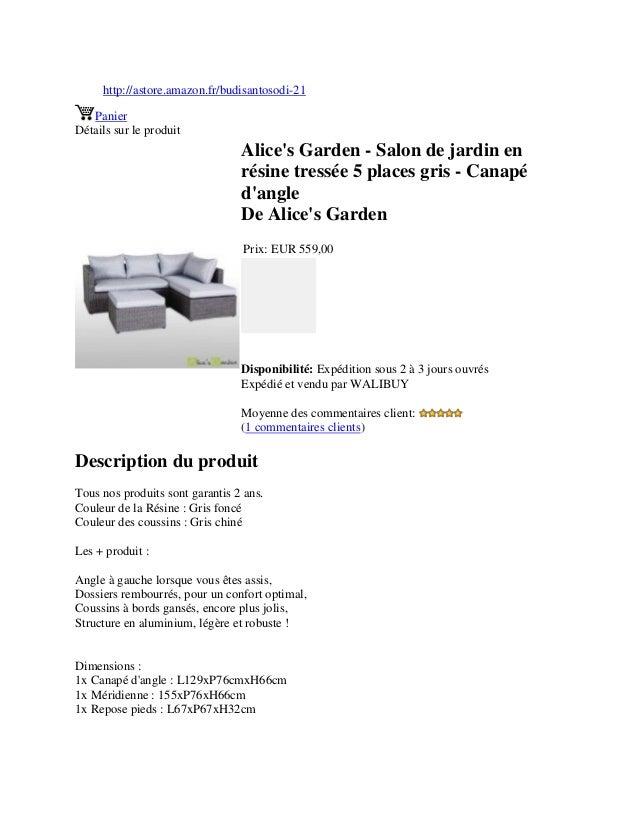 http://astore.amazon.fr/budisantosodi-21PanierDétails sur le produitAlices Garden - Salon de jardin enrésine tressée 5 pla...