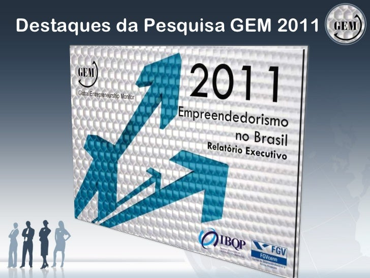 Destaques da Pesquisa GEM 2011