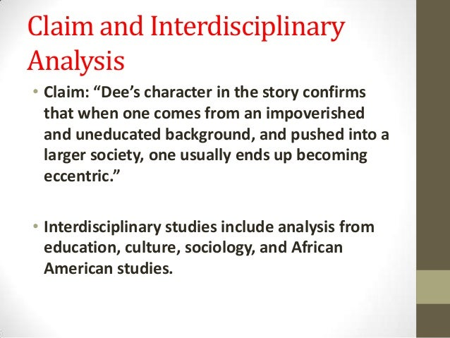 heritage in everyday use a short story by alice walker An interpretation of a alice walker's short story everyday use as a study of african-american ideas of heritage.