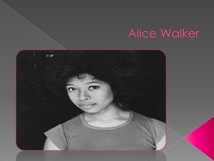 Alice Walker<br />