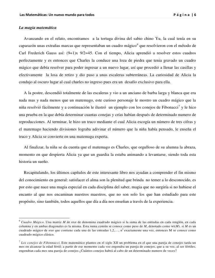 Las Matemáticas: Un nuevo mundo para todos                                                                   Página |6La m...