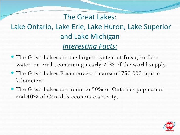 Pollution in the great lakes essays about education