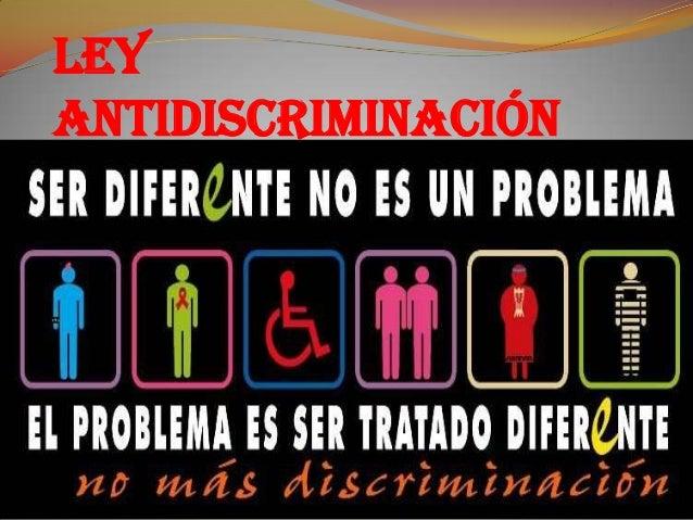 Ley Antidiscriminación
