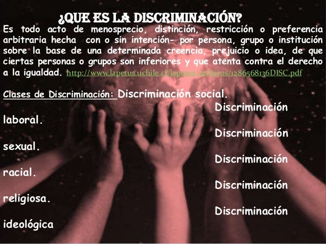 ley antidiscrminacion Slide 3