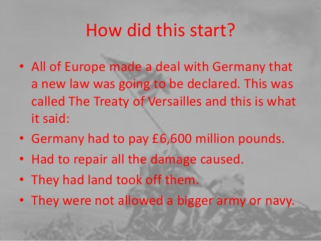 Alicia's world war 2 presentation