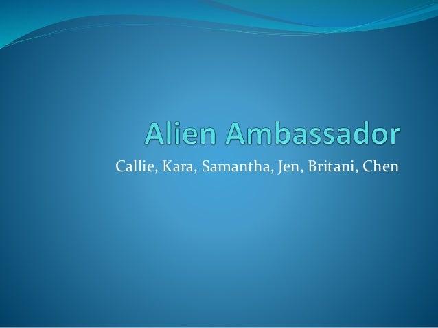Callie, Kara, Samantha, Jen, Britani, Chen