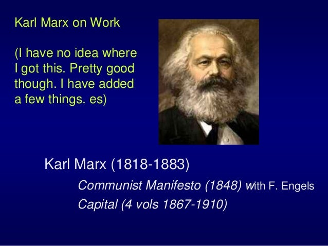 karl marxs estranged labor essay Without a doubt, the very novel philosophical ideas set forth about estranged labor in karl marx's economic and philosophic manuscripts of 1844 and adam smith's.