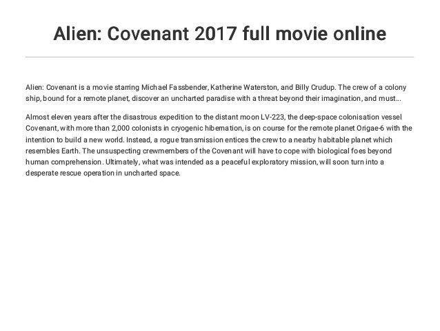 alien 2017 full movie online