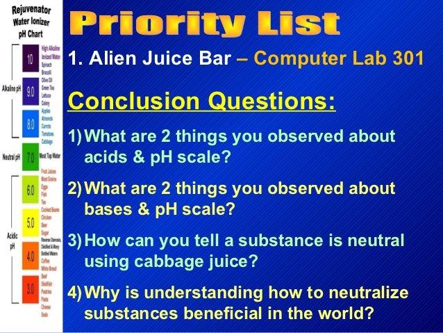 Alien Juice Bar – Alien Juice Bar Worksheet