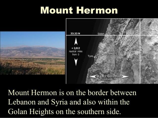 Resultado de imagen de hermon mars