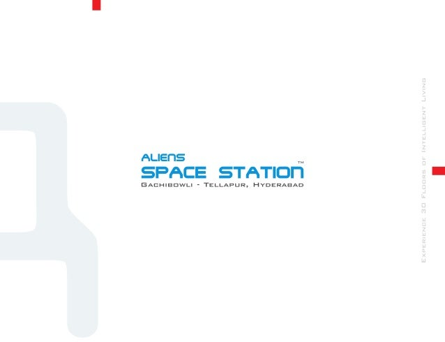 Aliens Space Station Brochure - Aliens Group