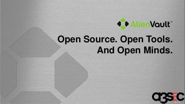 Open Source. Open Tools. And Open Minds.