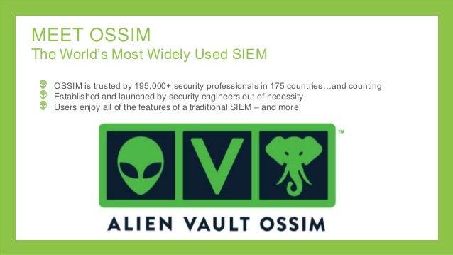 Integrated Tools in AlienVault Unified Security Management Platform Slide 2