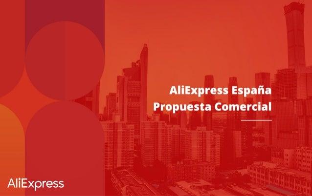 AliExpress España Propuesta Comercial
