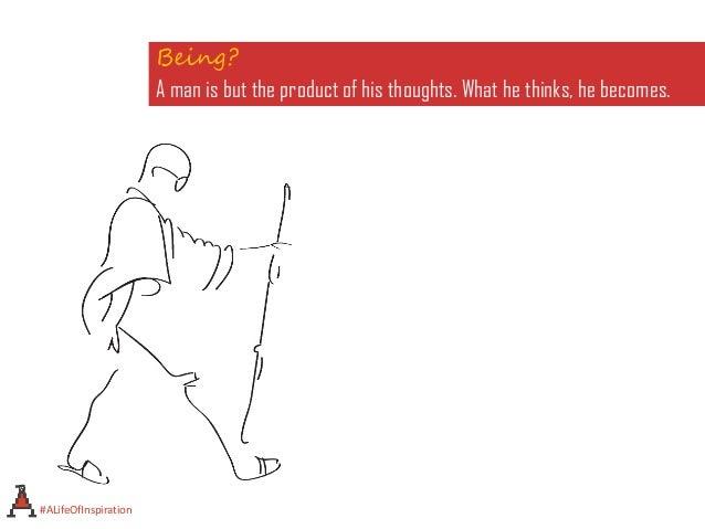 A life of inspiration - Mahatma Gandhi 1869-1948 Slide 2