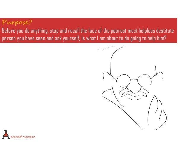 A life of inspiration - Mahatma Gandhi 1869-1948 Slide 3