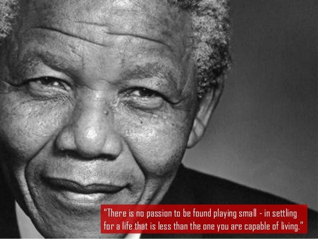 A life of inspiration - Nelson Mandela 1918-2013  Slide 3