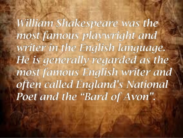 the life story of william shakespeare The best works of shakespeare biography, as recommended by columbia  your next choice is a work by e k chambers called william shakespeare: a study.