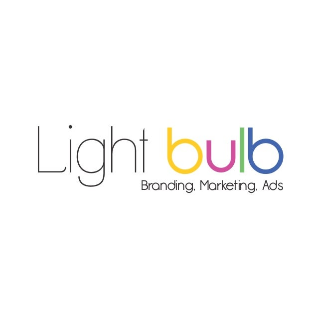 Light bulbBranding, Marketing, Ads