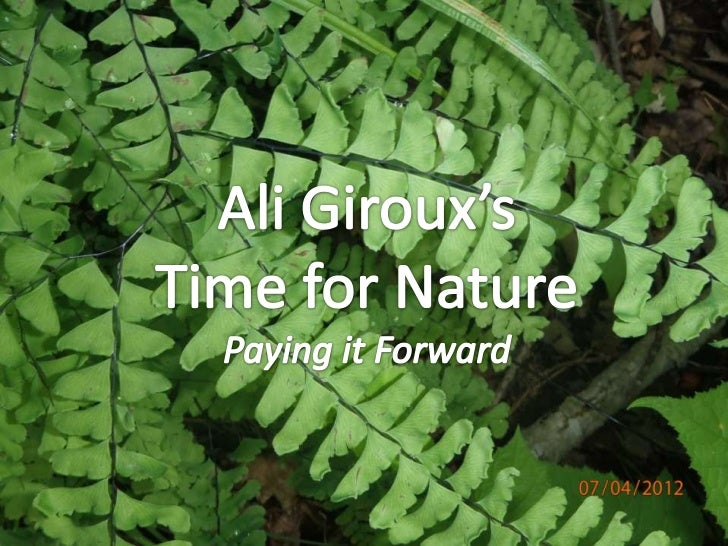 I believe I am guilty of a few things. I'm guilty of being afull-fledged nature nerd and another of equating aninventory d...