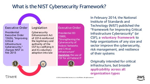 Aligning to the NIST Cybersecurity Framework in the AWS