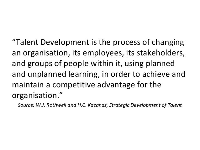 Aligning talent management and strategy Slide 2