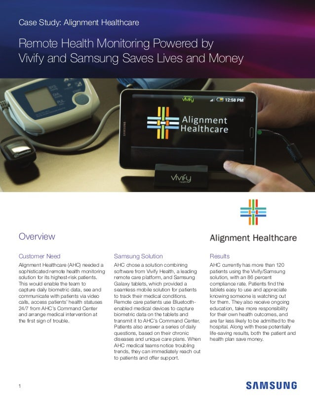 Alignment Healthcare Saves Lives & Money with Remote ...