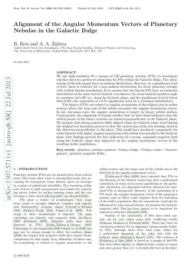 arXiv:1307.5711v1[astro-ph.SR]22Jul2013 Mon. Not. R. Astron. Soc. 000, 000–000 (0000) Printed 23 July 2013 (MN LATEX style...