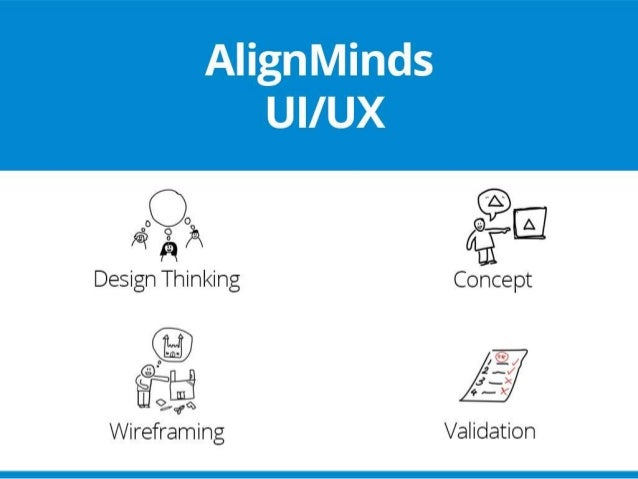 Design UI/UX - AlignMinds Technologies