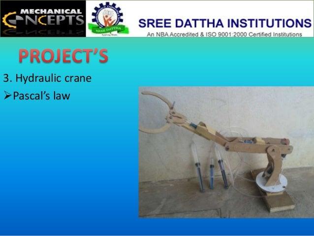 Principle Of Hydraulic Crane Project : Hydraulic crane working principle