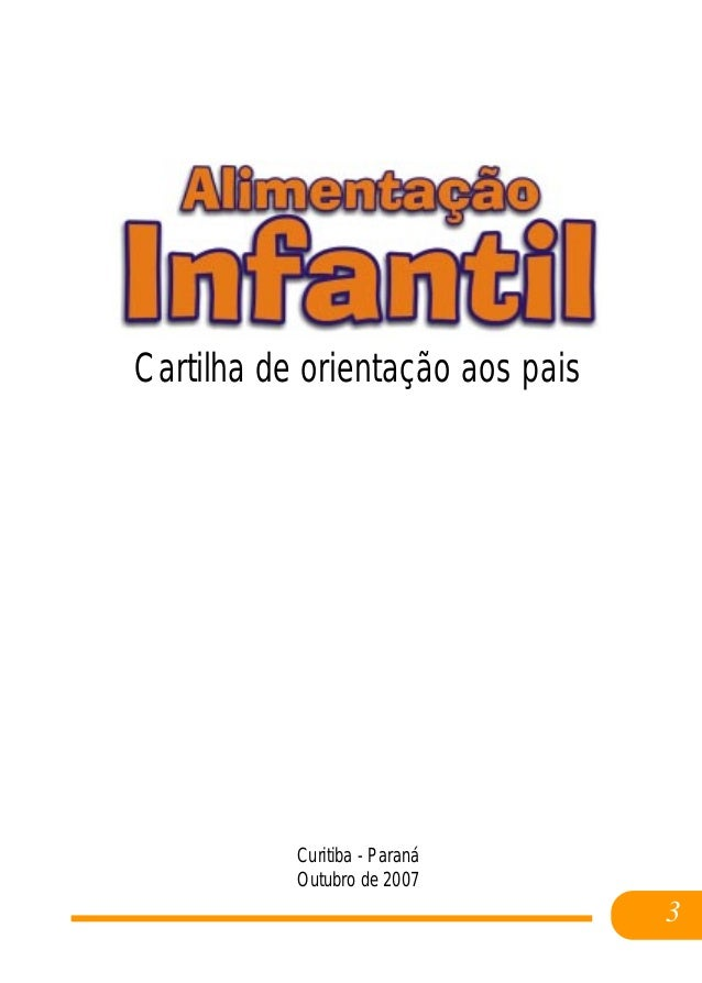 Alimentacao infantil cristiane_machado Slide 3