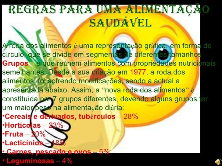 Alimentaçao Saudavel 19 01 10 Slide 3