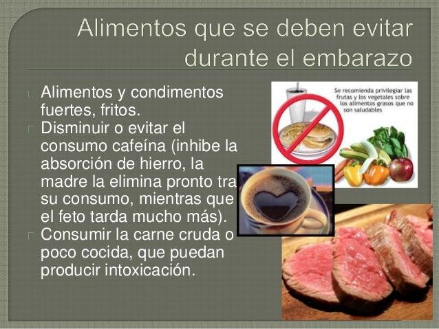 Alimentación durante el embarazo 2014 vitaminas etc.