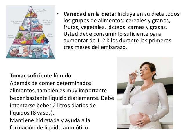 Que no debe hacer una embarazada en los primeros meses