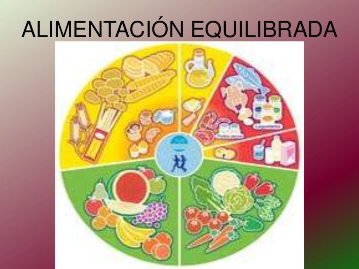 ALIMENTACIÓN EQUILIBRADA<br />