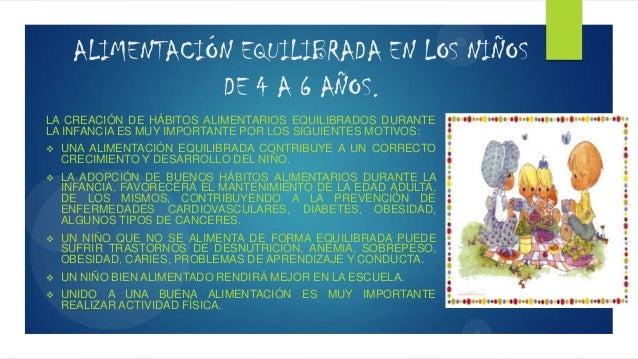 ALIMENTACIÓN EQUILIBRADA EN LOS NIÑOS DE 4 A 6 AÑOS. LA CREACIÓN DE HÁBITOS ALIMENTARIOS EQUILIBRADOS DURANTE LA INFANCIA ...