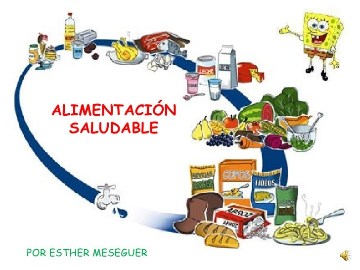 ALIMENTACIÓN SALUDABLE POR ESTHER MESEGUER