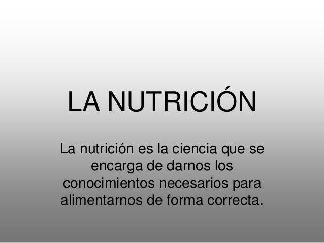 Nuestra alimentación debe cumplir tres funciones: • FUNCIÓN PLÁSTICA (proteínas): construir y renovar células y tejidos. •...
