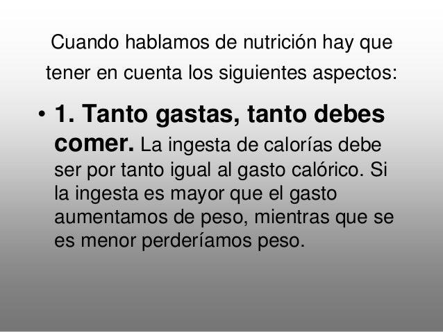 Principios inmediatos Dieta equilibrada Dieta deportista Hidratos de carbono (glúcidos) 55-60% 60-70% Grasas (lípidos) 20-...