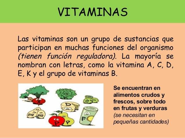 Alimentaci n y nutrici n 3 diver act - Alimentos con muchas vitaminas ...