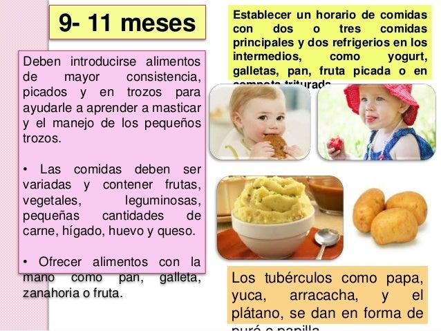 Alimentacion complementaria original - Cuantas comidas hace un bebe de 8 meses ...