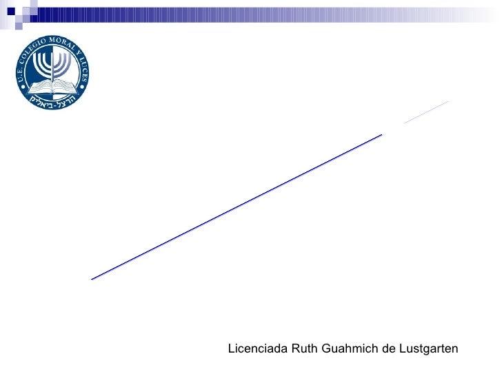 ALIMENTACIÓN BALANCEADA EN LA ADOLESCENCIA Licenciada Ruth Guahmich de Lustgarten